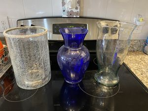 Vases (all for $10) for Sale in Tampa, FL
