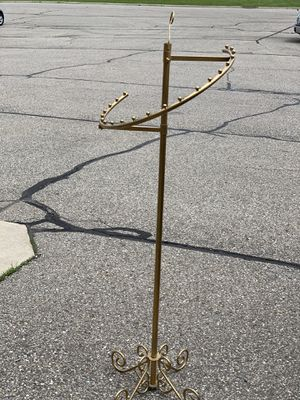 Gold brass boutique store fixture clothing rack for Sale in West Bloomfield Township, MI