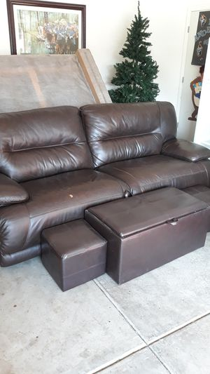 Extra large Brown Recliner for Sale in Tracy, CA