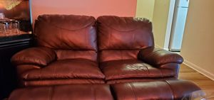 Lether Couch for Sale in Harrisonburg, VA