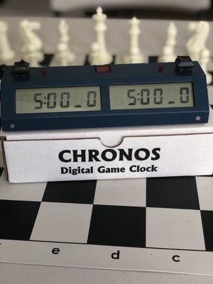 Chronos xl chess clock for Sale in Buffalo, NY