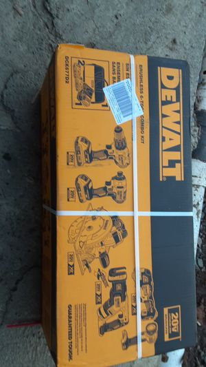 DeWalt combo kit for Sale in Puyallup, WA
