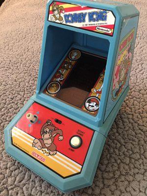 Arcade game Donkey Kong by SEGA Coleco 1981 original for Sale in Murrieta, CA