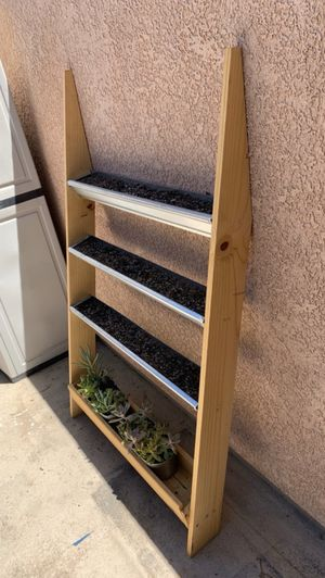 Planter 4-tier (plants not included) for Sale in Los Angeles, CA