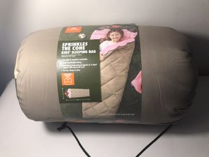 Ozark trail sprinkles cone sleeping bag for Sale in Ashville, OH