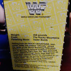 WWF Bend'em Vader for Sale in Los Angeles, CA