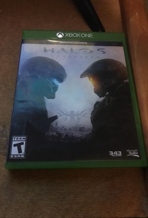 Xbox one exclusive halo 5 for Sale in Phoenix, AZ
