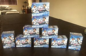 Topps Chrome Blaster boxes baseball trading cards (NEW) for Sale in Corona, CA