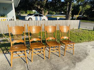 Chairs wooden for Sale in Largo, FL