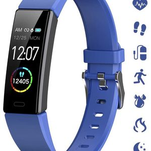 Brand New ! Slim Fitness Tracker for Kids Women Men,Heart Rate Monitor,IP68 Waterproof Activity Tracker for Boys&Girls,Blood Pressure,11 Sport Modes H for Sale in City of Industry, CA