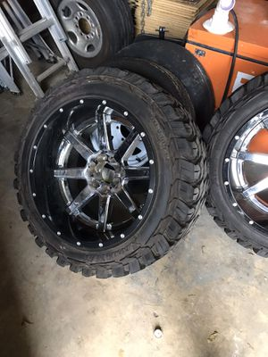 3 sets of rims and tires for Sale in Pompano Beach, FL