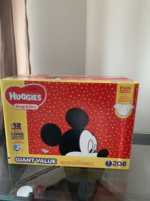 Size one baby diapers luvs and huggies for Sale in Addison, IL