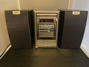 Aiwa XR-M150 Micro HiFi Compact Stereo System CD Player/Radio/Cassette. for Sale in Oak Creek, WI