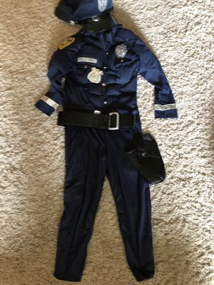 4t-5t police costume for Sale in Minneapolis, MN