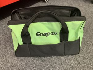 Snapon Tool Bag w/ Power tool holster ( Limited Edition ) for Sale in Ripon, CA
