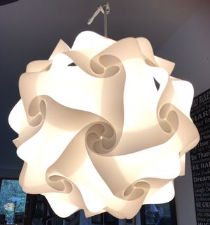 Geometric light fixture lamp for Sale in Puyallup, WA