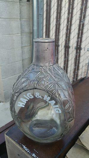 Haig&Haig sterlin 970 silver antique bottle make an offer for Sale in Las Vegas, NV