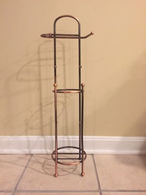 Toilet Paper Standing Rack and Storage for Sale in Fairfax, VA
