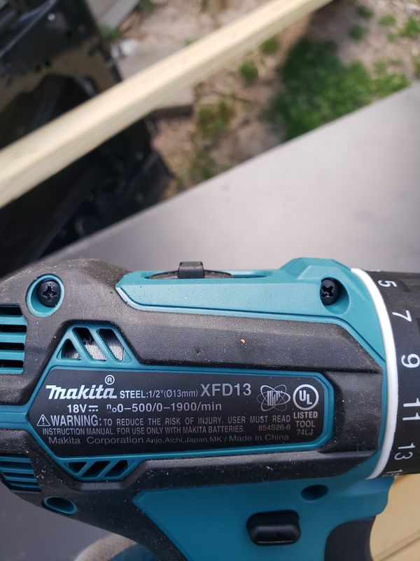 Makita drill brand new with new battery no charger $60 firm.
