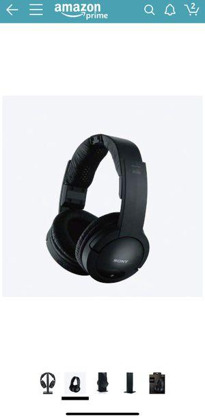 Sony MDRRF985RK wireless RF headphone black for Sale in Round Rock, TX