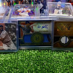 Autographed Baseball Cards Jersey Patch Memorabilia Topps Museum Collection Tier One Cubs Ian Happ Yankees Sabathia Rays Willy Adames for Sale in Emmaus, PA