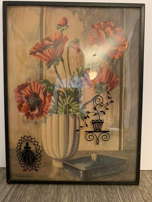 Antique Belveled glass picture for Sale in Las Vegas, NV