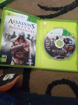 XBOX 360 GAME ASSASSIN'S CREED BROTHERHOOD MUST PICK UP $15 FIRM for Sale in Phoenix, AZ