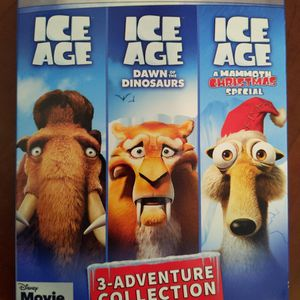 3-Adventure Collection: Ice Age - Blu-ray, DVD, & Digital Code for Sale in Renton, WA