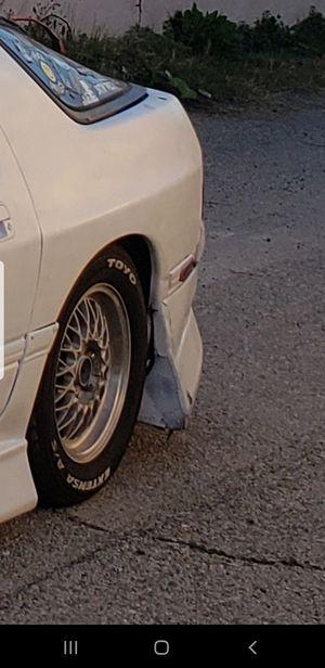BBS RIMS// Mazda Rx7 114.3x5 miata 240sx rims wheels 350z parts for Sale in Los Angeles, CA