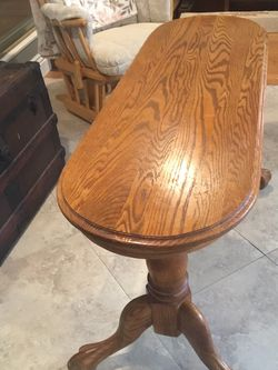 Sofa Table Oak for Sale in La Mirada,  CA