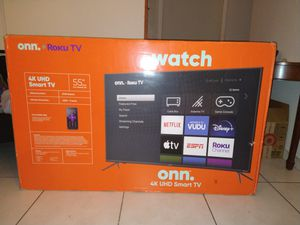 Brand New 55 inch ONN Roku TV for Sale in Miami, FL