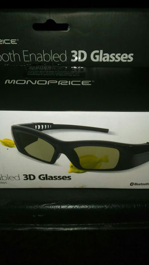 Mono piece bluetooth-enabled 3D glasses for Sale in Fort Worth, TX
