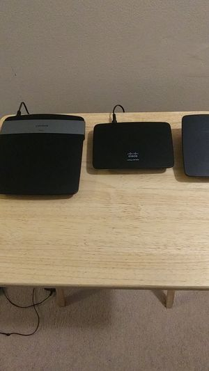 Cisco Routers and Wifi Extender for Sale in Fairlawn, OH