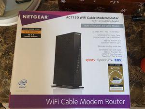 Netgear WiFi Cable Modem Router for Sale in Mesa, AZ
