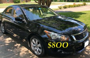 ✅✅👉💲8OO URGENT I sell my family car 🔥🔥2OO9 Honda Accord Sedan V6 EX-L power start Runs and drives very smooth.🟢🟢 for Sale in Fort Lauderdale, FL