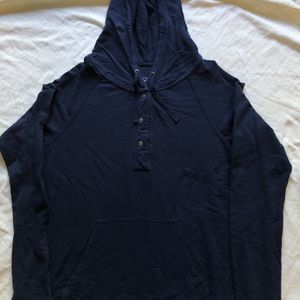 Patagonia Common Threads Womens Medium Blue Organic Cotton Fleece Hoodie for Sale in Stevenson Ranch, CA