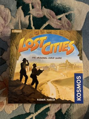 Lost cities card game/board game for Sale in Arlington, VA