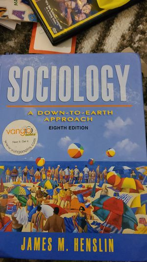 Sociology 8th edition James M Henslin for Sale in San Diego, CA