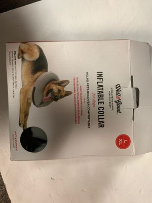 Infaltable collar for dogs used L XL for Sale in Tacoma, WA