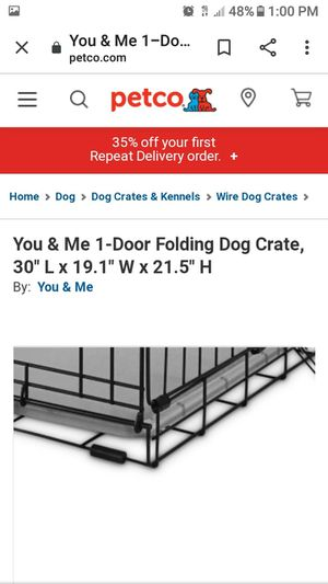 You & Me Dog Crate for Sale in Salt Lake City, UT