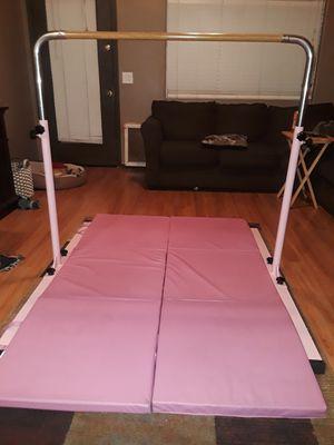 Shiwei-gymnastic bar, adjustable 3' to 5' for Sale in Goodyear, AZ