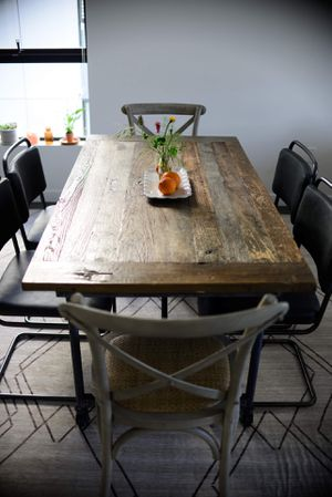 Restoration Hardware Flatiron Rectangular Dining Table for Sale in San Francisco, CA