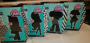 New rare lol omg dolls set of 4 for Sale in Miami, FL