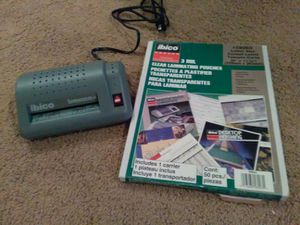 Laminator with Pouches for Sale in Spokane, WA