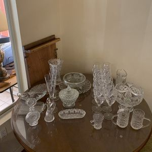 Leaded Crystal Set And Items for Sale in Roseville, CA