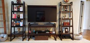 Entertainment console and shelves for Sale in Simpsonville, SC