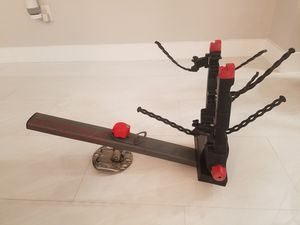 Yakima 2 Bike spare tire mounted rack for jeep wrangler for Sale in North Miami Beach, FL