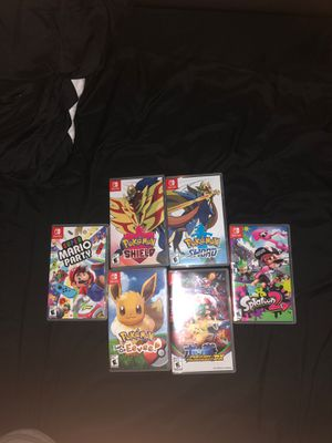 Nintendo switch games for Sale in Chula Vista, CA