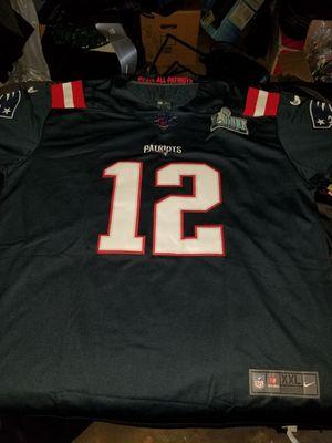 Patriots Brady Jerseys $50ea. Small-2x for Sale in Pomona, CA