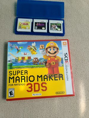 Nintendo 3DS 4 Game Bundle for Sale in Hillsboro, OR